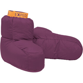 Exped Down Sock Unisex dark violet